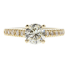 1.23 ct. Round Cut Solitaire Ring, M-Z, SI2 #3