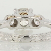 0.95 ct. Round Cut 3 Stone Ring #4
