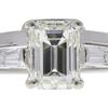 2.0 ct. Emerald Cut Bridal Set Ring, K, VS1 #4