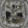 2.45 ct. Cushion Cut Bridal Set Ring #4