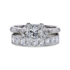 1.54 ct. Princess Cut Bridal Set Ring, H, SI1 #3