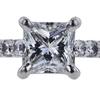 1.05 ct. Princess Cut Solitaire Ring, E, VVS2 #4