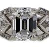 2.07 ct. Emerald Cut 3 Stone Ring #2