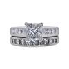 1.60 ct. Princess Cut Bridal Set Ring, H, SI2 #3