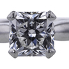 1.21 ct. Radiant Cut Solitaire Ring #4