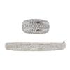 Bangle Bracelet + Matching Right Hand Ring #1