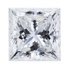 1.58 ct. Princess Cut Bridal Set Ring, G, SI1 #4