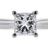 1.02 ct. Princess Cut Solitaire Ring, I, VVS2 #1