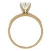1.1 ct. Round Cut Bridal Set Ring, I, I1 #4