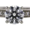 1.22 ct. Round Cut Bridal Set Ring #1