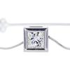 1.21 ct. Princess Cut Pendant Necklace #1