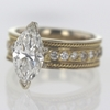 2.25 ct. Marquise Cut Solitaire Ring #2