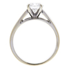 1.17 ct. Round Cut Solitaire Ring, F, SI1 #4
