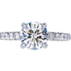 1.26 ct. Round Cut Solitaire Ring #1