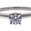 0.46 ct. Round Cut Solitaire Ring, E, VVS1 #4