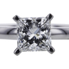 1.01 ct. Princess Cut Solitaire Ring #4