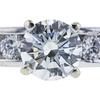1.09 ct. Round Cut Bridal Set Ring, I, SI1 #4