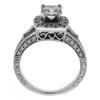 0.7 ct. Princess Cut Halo Ring, F, SI2 #3