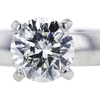 1.54 ct. Round Cut Solitaire Ring, H, I1 #4