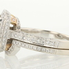 2.02 ct. Princess Cut Bridal Set Ring #3