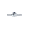 1.03 ct. Round Cut Solitaire Ring, F, SI1 #3