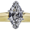 1.21 ct. Marquise Cut Solitaire Ring, G, I1 #4
