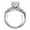 1.43 ct. Round Cut Bridal Set Ring, I, SI1 #3