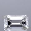 0.9 ct. Emerald Cut Halo Ring, I, VS2 #1