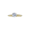 0.74 ct. Round Cut Solitaire Ring, F, SI1 #3