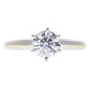 1.07 ct. Round Cut Solitaire Ring, F, SI2 #3