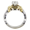 1.07 ct. Round Cut Solitaire Ring, J, SI1 #4
