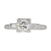 1.04 ct. Round Cut 3 Stone Ring, L, VVS2 #3