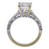 2.01 ct. Round Cut Bridal Set Ring, J, I1 #4