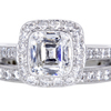 1.33 ct. Cushion Cut Halo Tiffany & Co. Ring #3