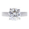 2.73 ct. Round Cut Solitaire Ring, H, SI1 #3