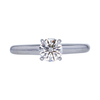 0.66 ct. Round Cut Solitaire Ring, I-J, VS1 #2