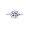 1.87 ct. Round Cut Solitaire Ring, J, I1 #3