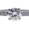 1.01 ct. Round Cut Solitaire Ring, E, I1 #4