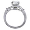 2.98 ct. Emerald Cut 3 Stone Ring, I, VS1 #2