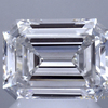 2.00 ct. Emerald Cut Bridal Set Ring, F, VS1 #1