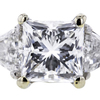 1.57 ct. Radiant Cut 3 Stone Ring #4