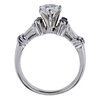 1.08 ct. Pear Cut Bridal Set Ring, G, SI2 #3