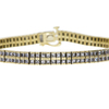 Princess Cut Tennis Bracelet, J-K, SI1-SI2 #2