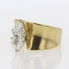 1.36 ct. Marquise Cut Bridal Set Ring #3