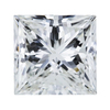 1.09 ct. Princess Cut Solitaire Ring, H, VS2 #1
