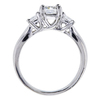 1.00 ct. Radiant Cut 3 Stone Ring, F-G, VS1-VS2 #3