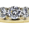 0.77 ct. Round Cut Bridal Set Ring, I, SI2 #4