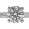 0.69 ct. Round Cut Bridal Set Tacori Ring, E, VVS2 #4