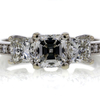 .92 ct. Square Cut Bridal Set Ring #2