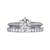 0.75 ct. Round Cut Bridal Set Tiffany & Co. Ring, E, VVS2 #4